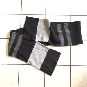 GAP Men's Black Gray winter scarf